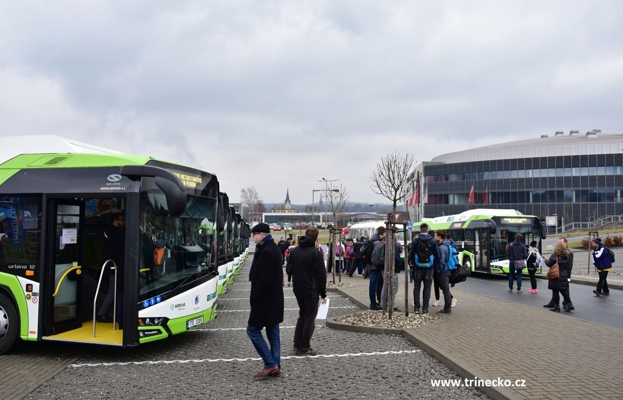 The leader of urban electric mobility is Třinec
