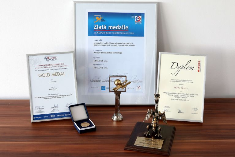 MEPAC CZ, s.r.o., Innovative company of Moravian-Silesian Region 2013, receives another award
