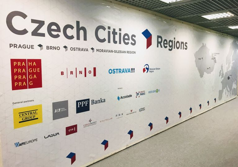 The Moravian-Silesian Region presented itself successfully at MIPIM in Cannes